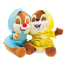 Disney Chip 'n Dale Rainy Day Plush Set Small New with Tags - $19.79