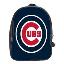 Scb0824 backpack school bag chicago cubs ubs logo blue design ba thumb200