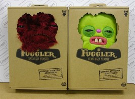 FUGGLER Doll - LOT of 2 - Mrs Gettrick's EMPORIUM - Medium - Rare - HOT! - $60.21