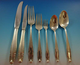 Stradivari by Wallace Sterling Silver Flatware Set For 8 Service 60 Pcs Dinner - $3,595.00