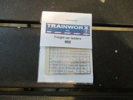 Trainworx Stock # 602 Freight Car Ladders with Drill Template # 80 Drill N-Scale image 6