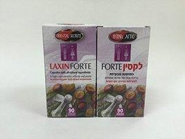 180 capsules of Laxin Forte Kosher Regular Bowel Movment Oriental Secrets image 5