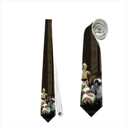 Necktie c3po r2d2 bb-8 droids wars