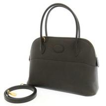HERMES Bolid 27 Veau Epsom Black 2Way Shoulder Bag France #D 2019 Handbag - $7,940.90