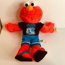 "New Sesame Street Plush Elmo Sesame Tropics Stuffed Animal Toy Nanco 20""... - $18.49"