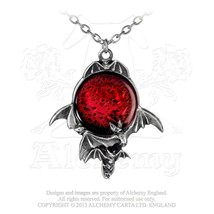 Blood Moon Pendant by Alchemy Gothic - $34.60