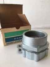 "General Signal Groundtite Combination Liquidtight Coupling 3"" 4Q-300FML - $120.93"