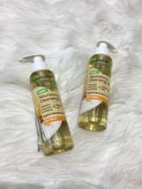 2 Garnier Clean + Nourishing Cleansing Oil Dry Skin Jojoba Macadamia BB14 - $12.19