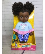Positively Perfect Aaliyah African American Toddler Doll Black Curly Hai... - $29.44