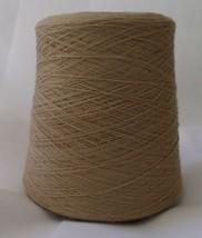 Tan Thread Large industrial Spool Cone Blend Thread  - $24.74