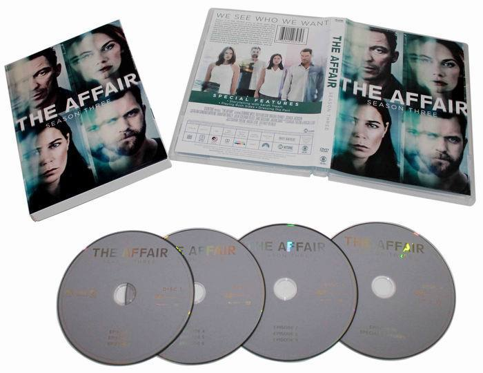 Affair The Complete Third Season 3 DVD Box Set 4 Discs Free Shipping