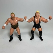 Vintage 1990 WCW Action Figures Barry Windham W/ Belt And Sid Vicious - ... - $20.95