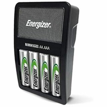 Energizer Rechargeable AA and AAA Battery Charger (Recharge Value) with ... - $18.99