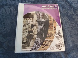 Social Studies Home School Analyzing Visual Primary Sources World War II - $29.76