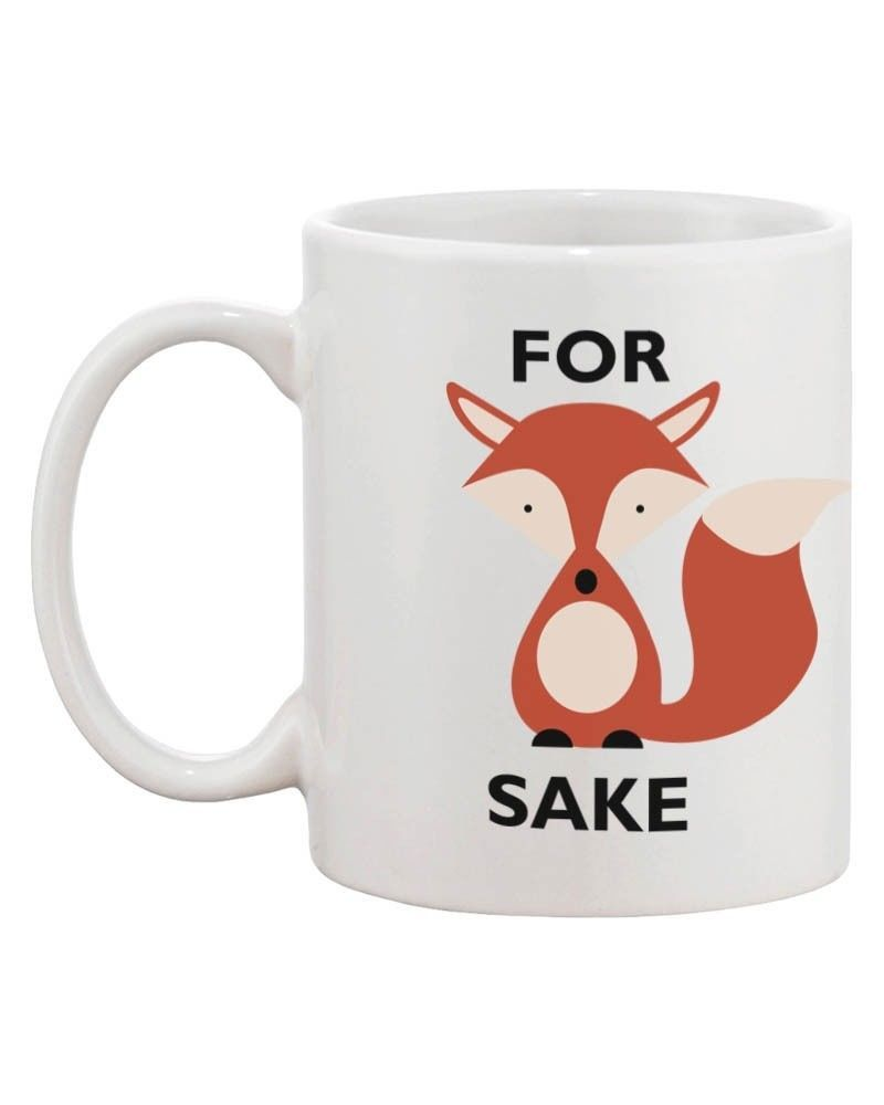 Cute For Fox Sake Mug - For Fox Sake Oh! image 2