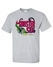 The Sinister Six t-shirt retro marvel comics silver age Kraven Electro Vulture image 1