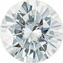 4.00CT Forever One Moissanite Loose Stone Round Cut 11mm - $1,683.00