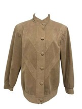 Vintage women's ultra suede jacket designed exclusively for singers size L - $38.60