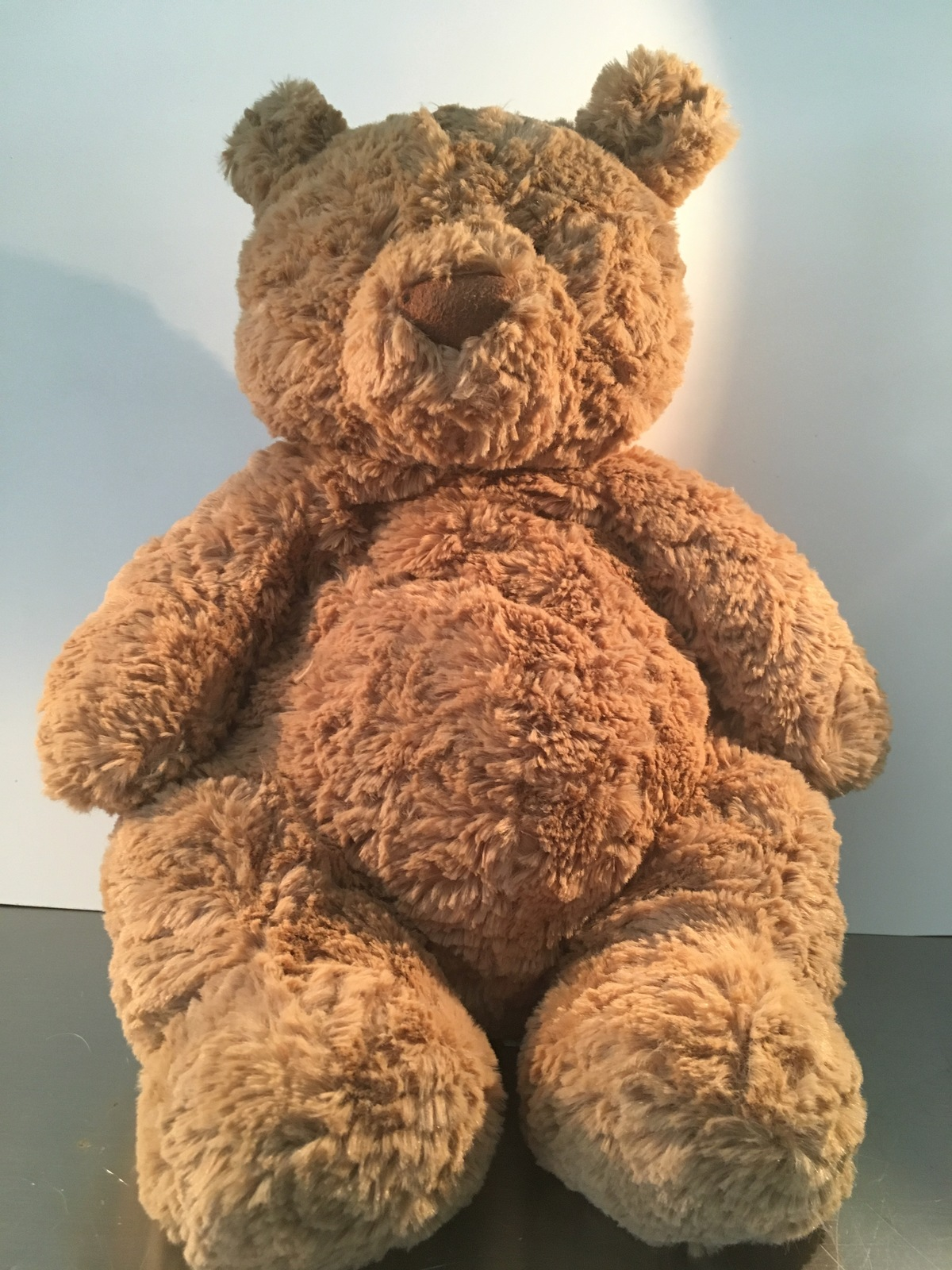JELLYCAT LONDON shaggy and floppy brown teddy bear - $16.00