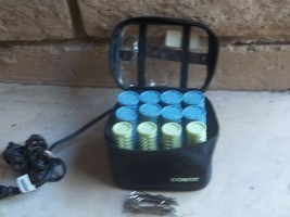 electric rollers compact conair instant heat x12 - $46.00