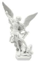 "11"" Saint St Michael Archangel Catholic Religious Statue Figurine Vittor... - $59.99"