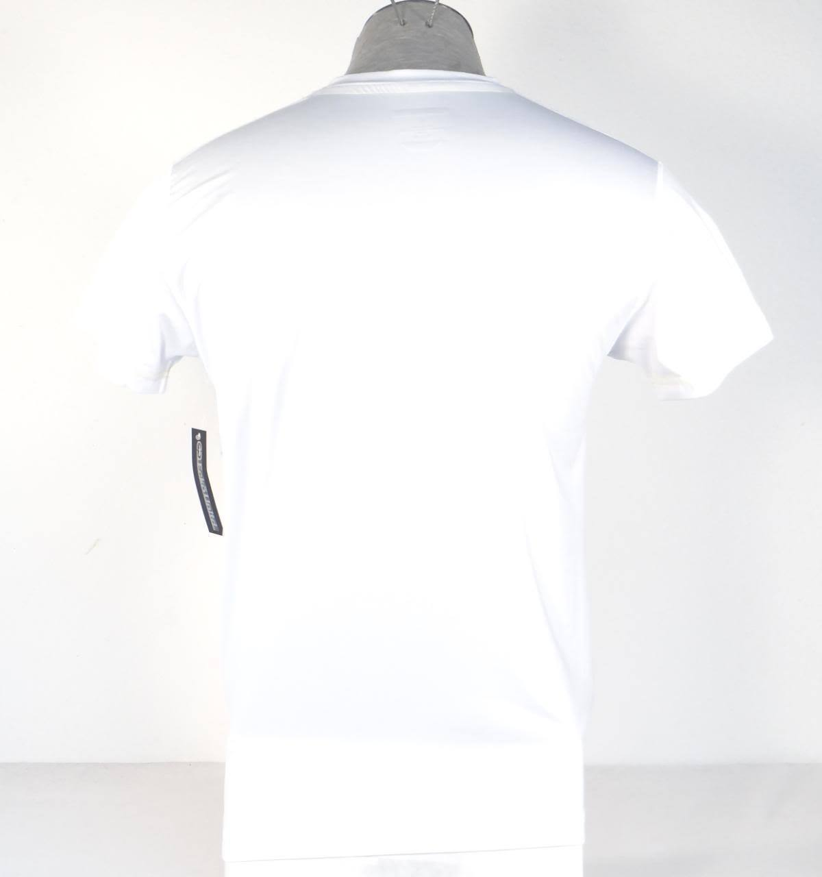 Ecko Unltd Moisture Wicking White Short Sleeve Body Fit Tee Shirt Men's NWT