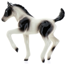 Hagen-Renaker Specialties Ceramic Horse Figurine Pinto Pony Colt Walking image 6