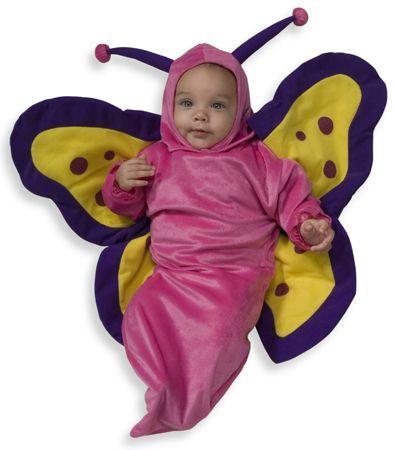 Newborn Butterfly Buntitng Halloween Costume