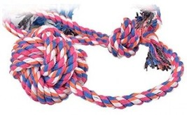 Rope Tug Toys For Dogs,5ivepets 17 Cotton Rope Dog Chew Toys,Interactive Toys - $24.14