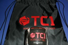 TC1 SWEAT IGNITION Workout Enhancer  Topical Fat Burning Gel + Bag  Same... - $39.95