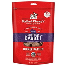 Stella & Chewy's Freeze-Dried Raw Absolutely Rabbit Dinner Patties Dog F... - $71.36