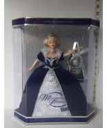 Collectible Barbie Doll  Special Happy New Year 2000 Millennial Princess... - $18.89