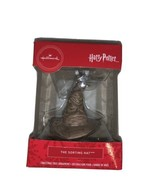 Hallmark Harry Potter The Sorting Hat Christmas Tree Holiday Ornament New - $15.00