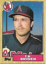 Baseball Card- T.R. Bryden 1987 Topps #387 - $1.25