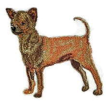 Amazing Custom Dog Portraits[Side Face Chihuahua] Embroidered Iron On/Se... - $9.89