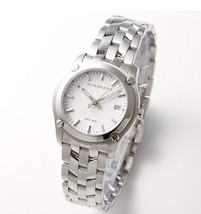 Burberry BU1853 Silver Tone Swiss Watch 32mm - $235.00