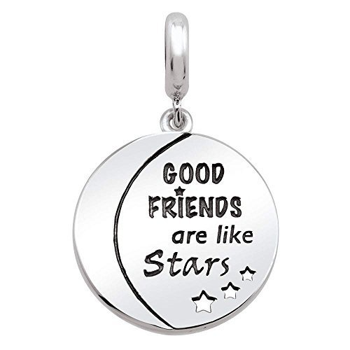 Persona Sterling Silver Always my Friend Charm Bead H15316P1