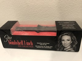 Sultra the Bombshell 1-inch Rod Curling Iron Beach Curls From Root To Ti... - $46.52