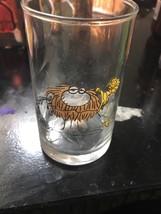 "Arbys B.C. Ice Age Glass Collectors Series Glass 1981 ""Grog"" Caveman - $5.76"