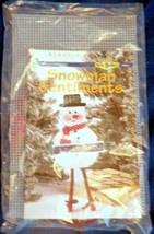 Snowman Sentiments Let it Snow Winter Plastic Canvas Kit House of White Birches - $24.99
