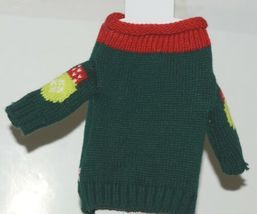 DMM Uncle Bobs XSweat Ugly Knitted Bottle Sweater Green with Bells and Holly image 3