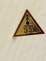 US Military 55th Air Defense Artillery BN Insignia Pin - Vigilantia - $10.00