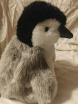 "Folkmanis 9"" Baby Emperor Penguin Plush Hand Puppet Stuffed Animal Preowned - $19.79"