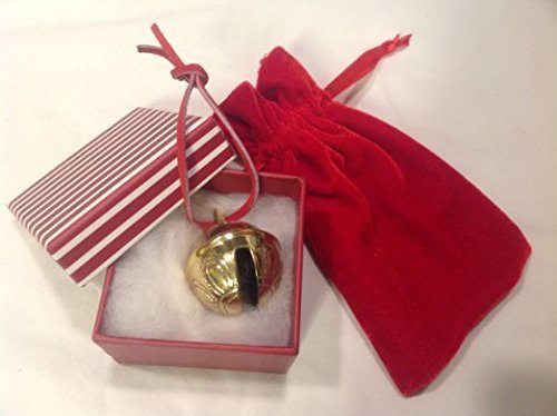 Primary image for Santa Golden Brass #3 Reindeer Sleigh Bell