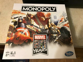 New Monopoly MARVEL 80 YEARS Board Game (USA SHIPS FREE) Factory Sealed - $37.64