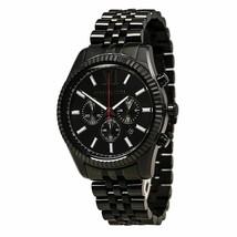 Michael Kors MK8320 Men's Lexington Black Dial Black IP Steel Bracelet W... - $109.79