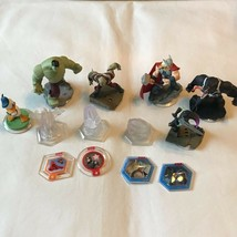 Disney Infinity Marvel Avenger 2.0 Figurines Lot of 5 Hulk Drax Gamora Venom + - $9.49