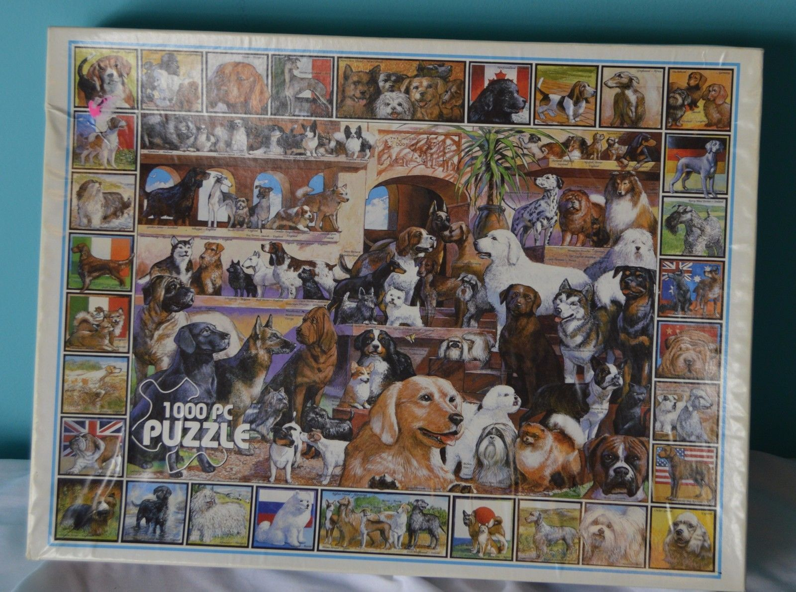 White Mountain Jigsaw Puzzle 1000 PC All and 14 similar items