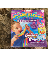 3 Flavors EDIBLE SLIME CANDYGLOOP Rainbow Punch YOU CAN EAT YOUR OWN SLIME! - $28.70