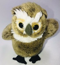 "Wildlife Artists Brown Owl Plush Stuffed Toy 8"" - $17.81"